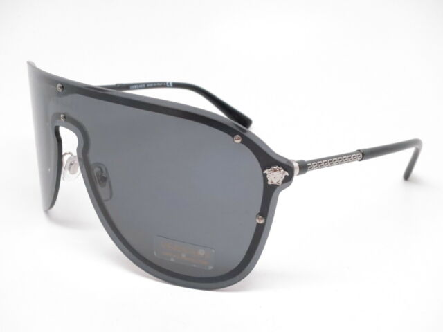 21a49fb3e1 Authentic Versace Sunglasses Ve2180 100087 44mm Silver Frames for ...