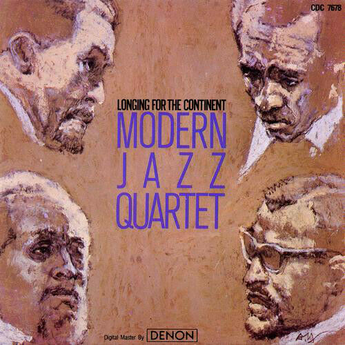 The Modern Jazz Quartet - Longing for the Continent  CD
