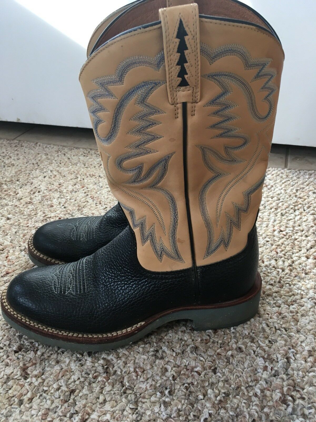 Ariat Cowboy Boots Cobalt Style 17841 Navy bluee Size 9B