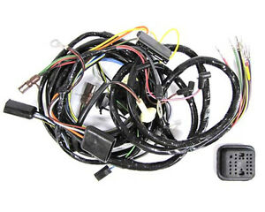 ford mustang headlight wiring harness for cars equipped image is loading 1969 ford mustang headlight wiring harness for cars