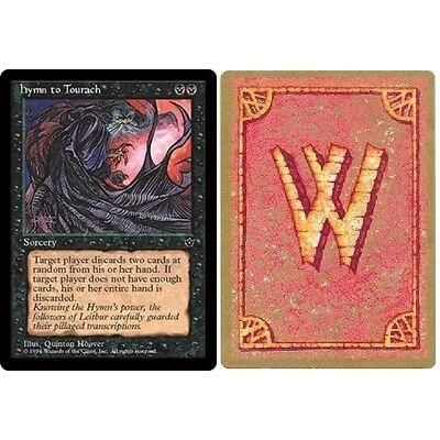 Wyvern Backed Fallen Empires - Hymn to Tourach (ver. 3) X1 (Wyvern Backed Magic