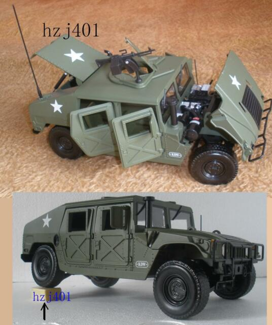 1 18 Us Army Hummer Cast Military Car Model