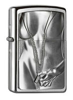 Zippo Zipper Girl, Spring 2015, 2004667, chrome brushed