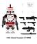 miniature 22 - STAR WARS Minifigures custom tipo Lego skywalker darth vader han solo obi yoda