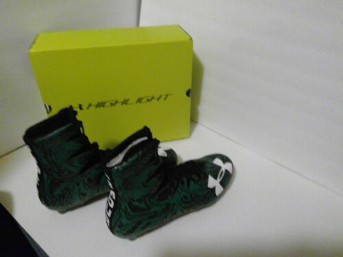 NEW with box under armour Highlight lux football cleats size 10