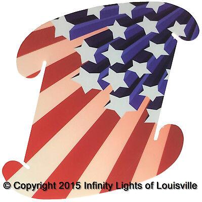 USA Flag #4 Infinity Lamp Puzzle Light LuvaLamp Jigsaw IQ Lights 10 pcs USA | eBay