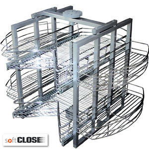 Image Is Loading Kitchen Pull Out Carousel Storage Unit To Fit