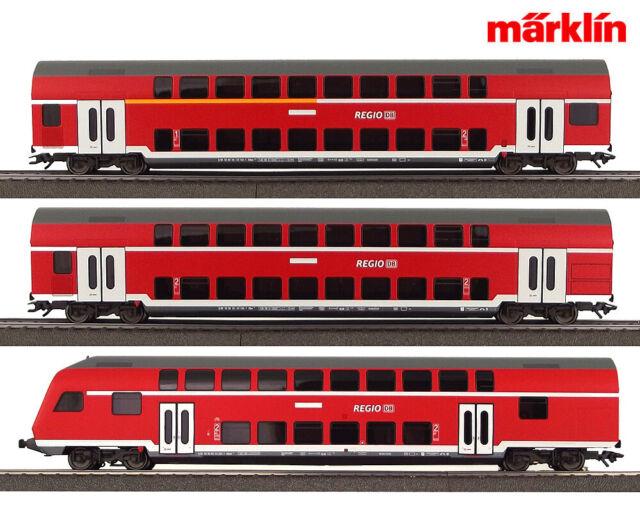Märklin 29479 - 03 Doppelstockwagen-Set inkl. Steuerwagen (3 teilig) ++ NEU