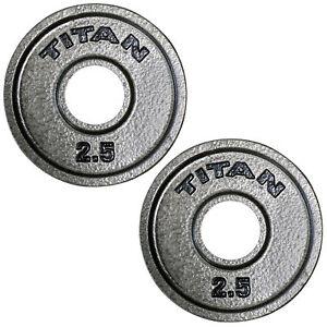 Titan-Cast-Iron-Olympic-Weight-Plates-2-5-LB