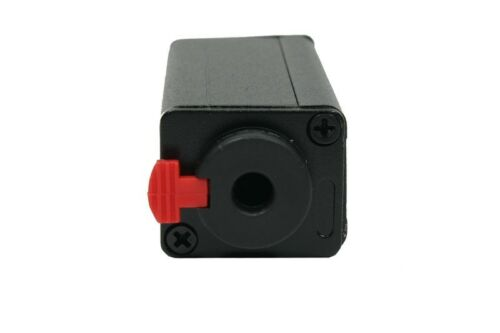"Elite Core Locking 1//4/"" Female to Locking 1//4/"" Cable Audio Adapter LK-QQC"