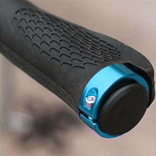 MTB Bike Handlebar Hand Grips Rubber Mountain Bicycle Ergonomic Cycling Lock On