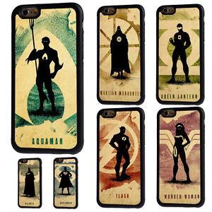 iPhone-5-5s-5c-6-6s-7-8-X-Plus-Superhero-Silhouette-Rubber-Phone-Case-Cover