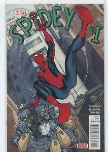 Spidey-1-Thompson-Bradshaw-New-Near-Mint-Marvel-Comics-CBX18