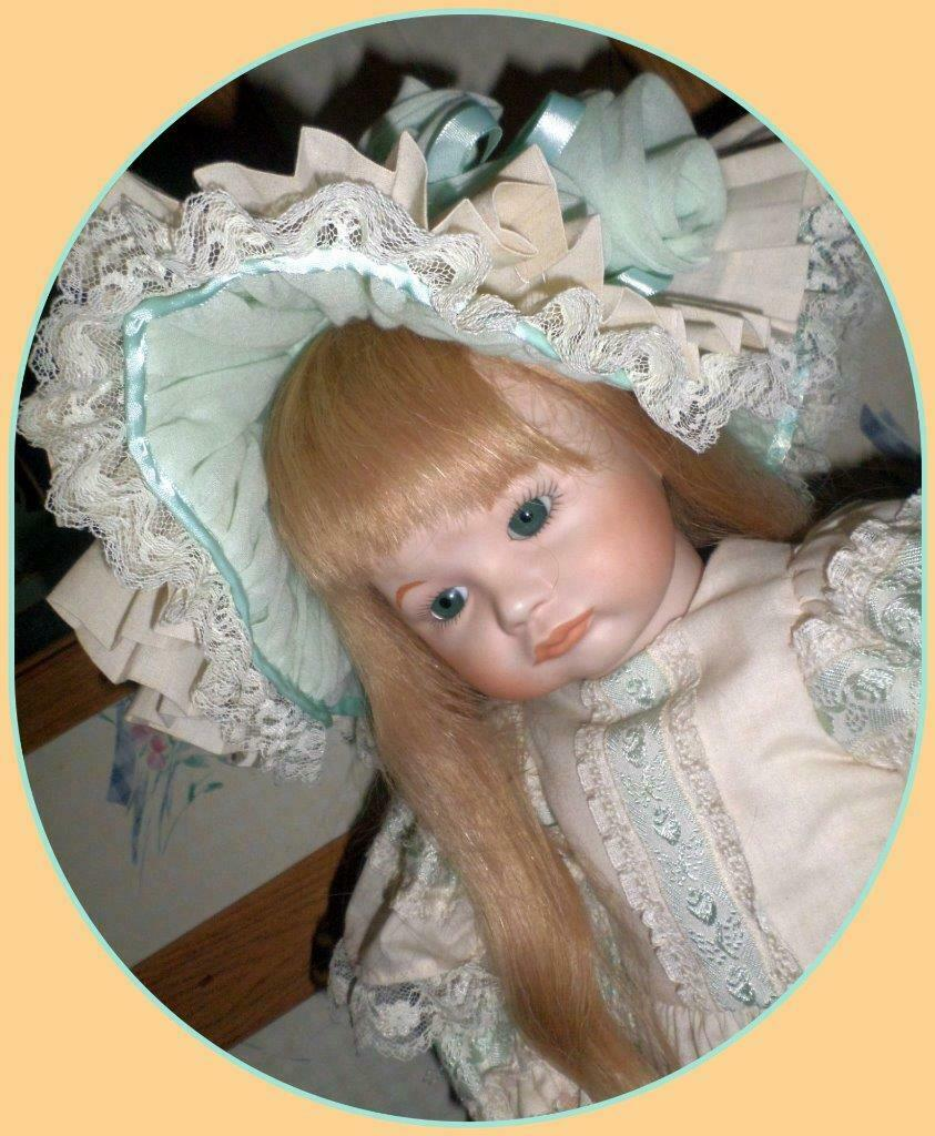 SFBJ Porcelain Repro Doll 248 252 Paris Pouty Mouth Girl Doll SO SWEET