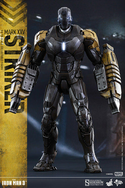 Iron Man 3 13 pulgadas figura de acción MMS-Iron Man Mark XXV Striker Hot Toys