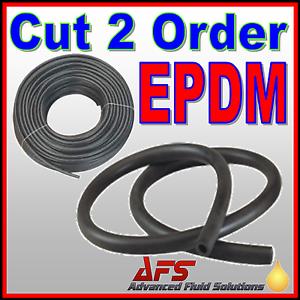 EPDM Smooth Rubber Tubing Coolant Radiator Hose Brake Fluid Safe Tube Air Water