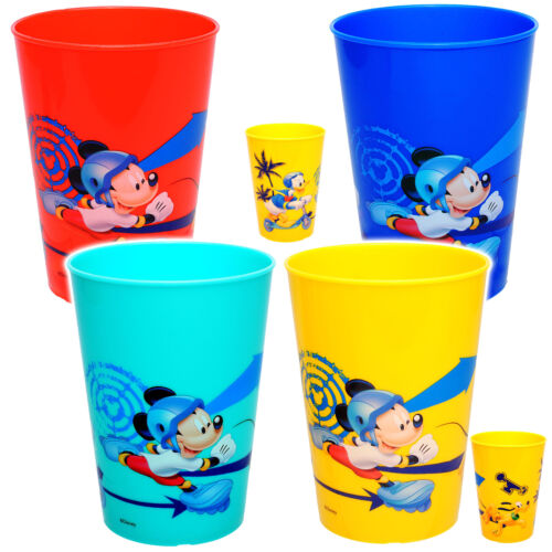 """3 in 1 Becher /"""" Disney Mickey M Trinkbecher // Zahnputzbecher // Malbecher"""