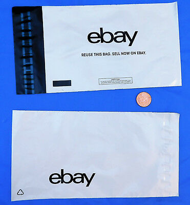 "50 eBay logo branded packaging mailing bags 140 x 230 mm 5.75 x 9"" posting SMALL"