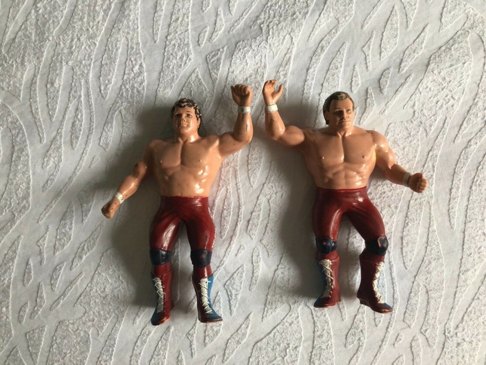 WWF LJN Tag Team Champions Davyboy Smith The Dynomite Kid The British Bulldogs