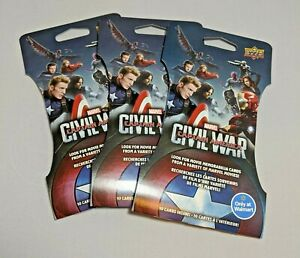 3-Super-Packs-of-Marvel-Captain-America-Civil-War-Trading-Cards