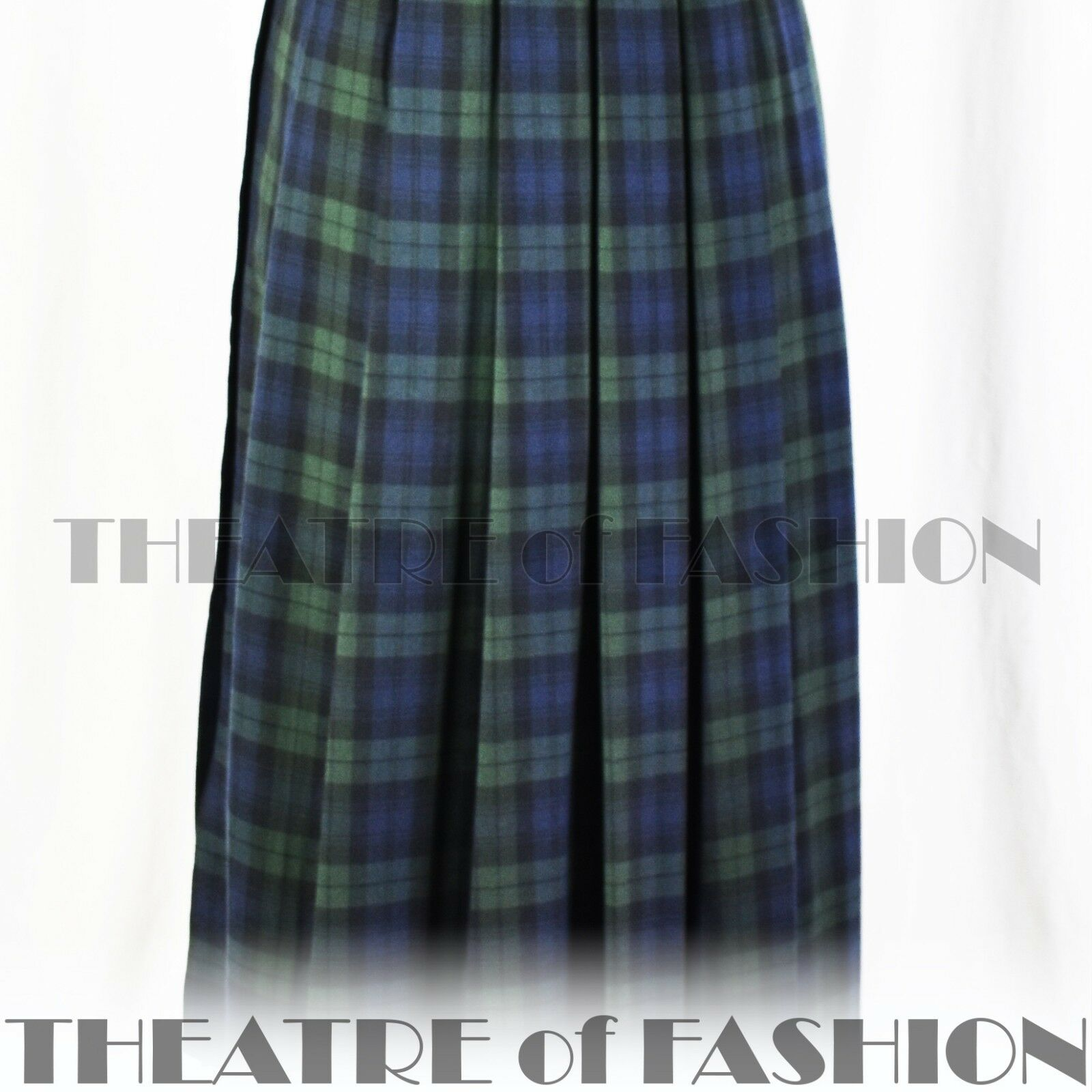 Abito in in in tartan vintage Laura Ashley 10 12 14 20s 30s Vittoriano Edoardiano 40s 50s d9a1c1