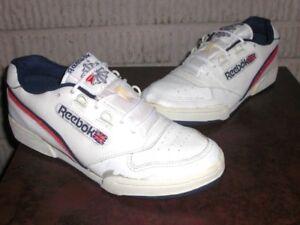 brand new bd0af 057a3 Image is loading Vintage-OG-1990-039-s-REEBOK-CLASSIC-shoes-