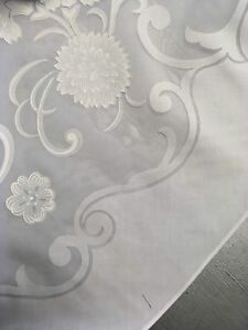 Beautiful Vintage Sheer Tablecloth, New in Package, 65 X 84 Oval,Harbox6,7