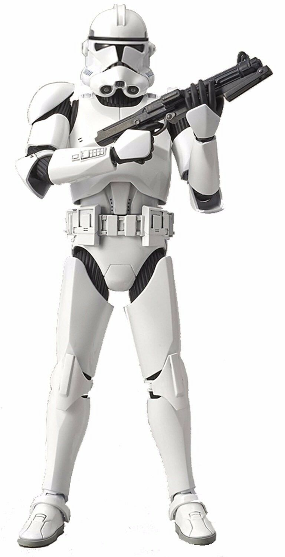 New Bandai Star Wars Clone Trooper 1/12 scale plastic model Free Postage F/S