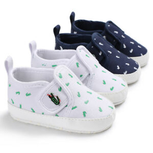 Newborn Baby Boys Girls Pram Shoes Infant Toddler Pre Walking First Shoes 0-18 M
