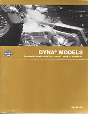2005 Harley Dyna Super Wide Glide Low Rider Sport Electrical Diagnostic Manual