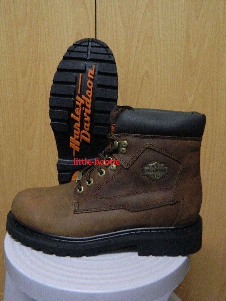 Harley-Davidson botas botas de cuero señora 36/39/40/41 83365 Bayport marrón