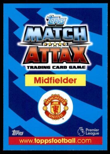 Match Attax 2017-18 Nemanja Matic Manchester United No 206