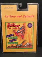 Arthur Reed & Friends Music CD PBS 1998 19 Songs Compact Disc First Almost Real
