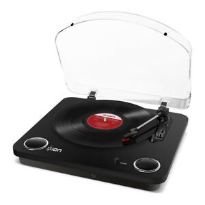 Ion-Max-LP-3-Speed-Conversion-Turntable-Stereo-Speakers-Digitize-your-Records