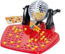 Bingo Family Game Traditional Kids Toy Gift 90 Balls Multi Player Lotto Play Set