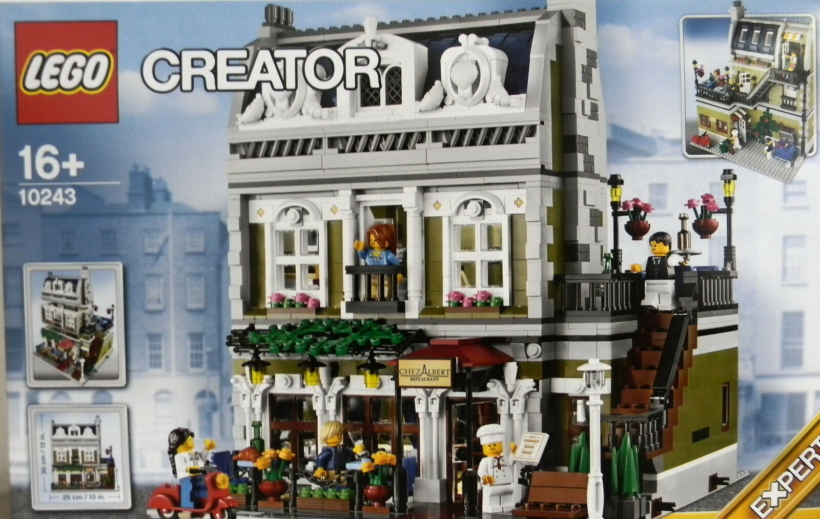 LEGO® CREATOR 10243 PARISER RESTAURANT  NEU & ORIGINAL VERPACKT