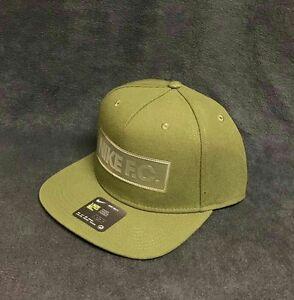 9c1ed4a1fb7c4f Image is loading Nike-F-C-Cap-Snapback-True-Hat-Legion-Green-