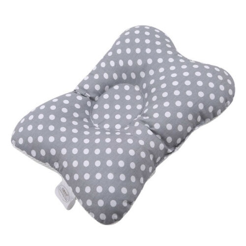 Newborn Baby Breathable Pillow Prevent Anti Roll Flat Head Cushion Pillows DP