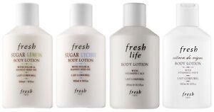 FRESH-Sugar-Body-Lotion-Moisturizer-Cream-Butter-10oz-300ml-Multi-Scent