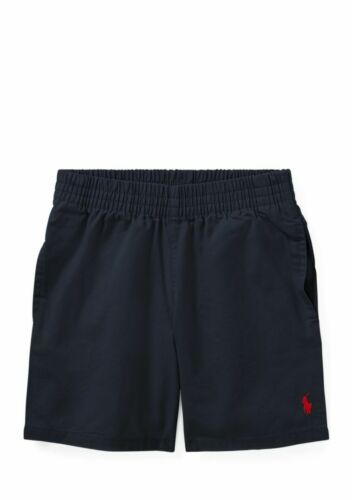 Polo Ralph Lauren Boys Cotton Pull-On Shorts  Navy NWT Childrenswear