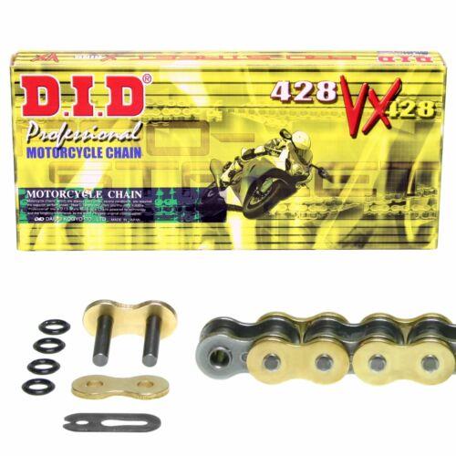 BT 07-15 DID Kettensatz GOLD Suzuki RV 125 VanVan CLIPSCHLOSS extra verstärkt
