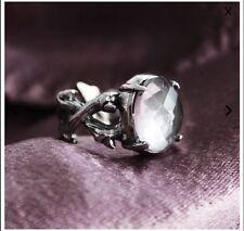Shop Dixi Fenestra Clear Quartz Ring RRP £58
