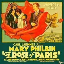 THE ROSE OF PARIS Movie POSTER 18x18 Mary Philbin Robert Cain John St. Polis