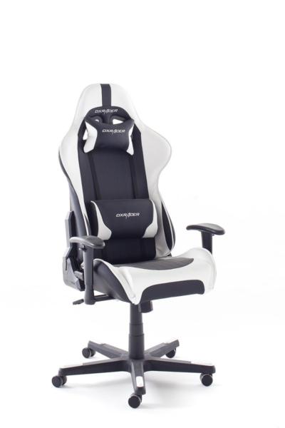 woody m bel dxracer 6 gamer chair b rostuhlschwarz wei g nstig kaufen ebay
