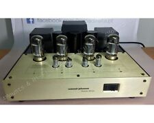 CONRAD JOHNSON PREMIER ELEVEN - VACUUM TUBE POWER AMPLIFIER - USED - GOLD