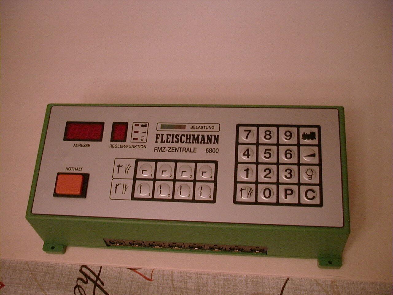Fleischmann nr.6800 FMZ Centrala styrekonom fullständiga instruktioner och lådaade