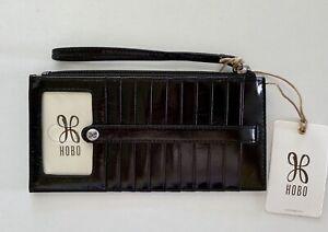 NWT-Hobo-International-KIMI-Credit-Card-Slide-Stacker-Wallet-Wristlet-Black-68