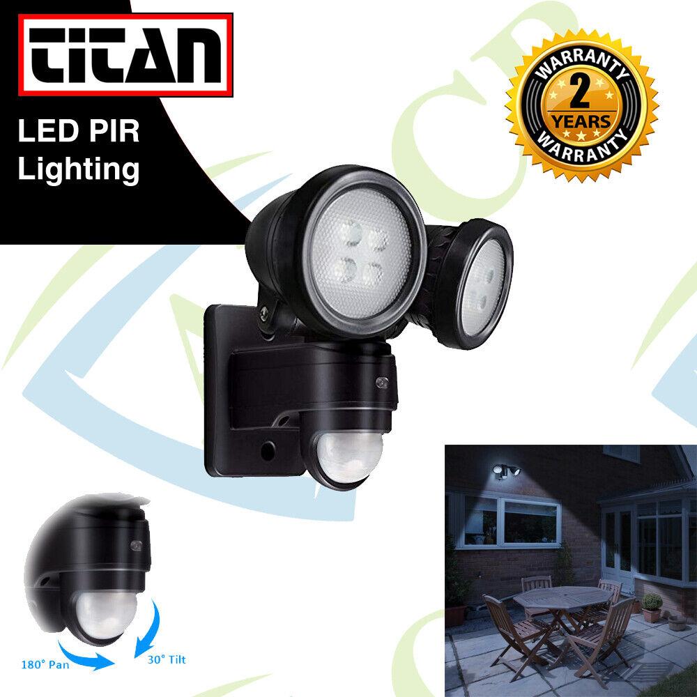 20W Sensor De Movimiento PIR Foco LED Foco Jardín Al Aire Libre De Doble Seguridad