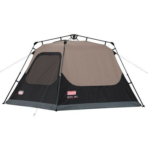 Coleman Outdoor Family Camping 4-Person Instant  Tent 8 x 7 Feet w  WeatherTec  the cheapest