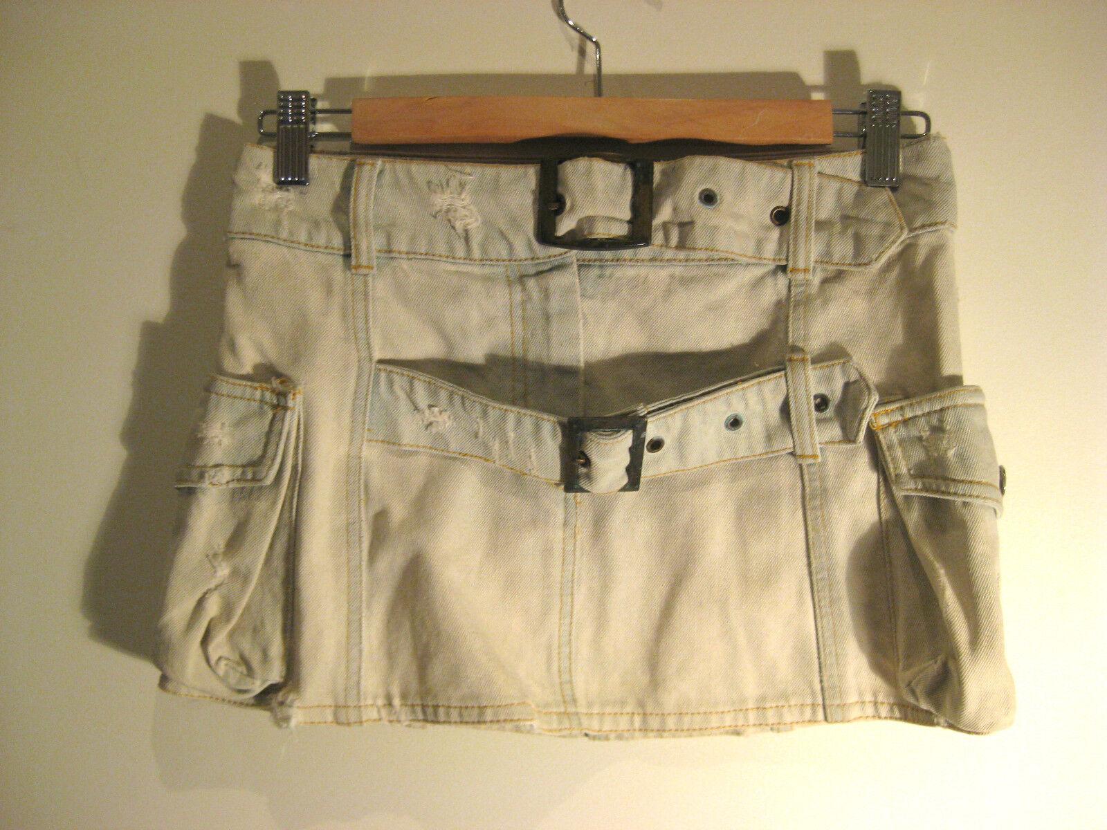 Sass & Bide Sz 6 Distressed Skirt Designer